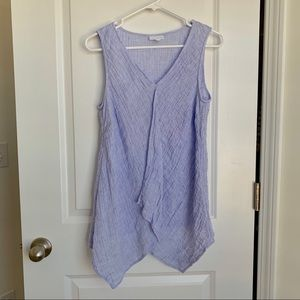 J. Jill Pure Linen Textured Tank top